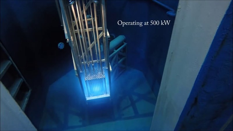 Запуск ядерного реактора