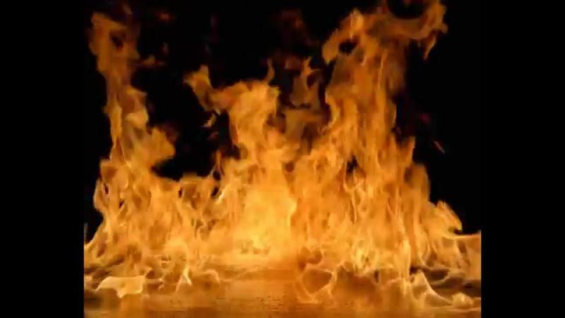 футаж огонь (8-14)