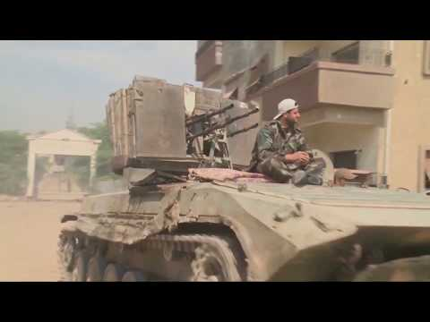 Syrian government recaptures town in southern governorate of Daraa