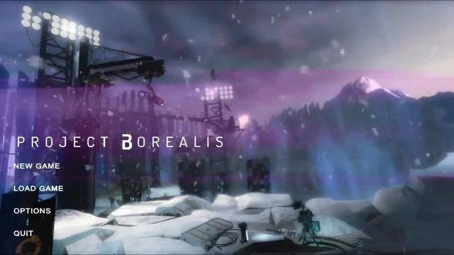 Project Borealis (Menu fan made)