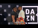 ANTHONY JOSHUA GOES AFTER BIG BABY MILLER AFTER TRASH TALK IN NEW YORK! FIGHTERS GO BACK & FORTH!