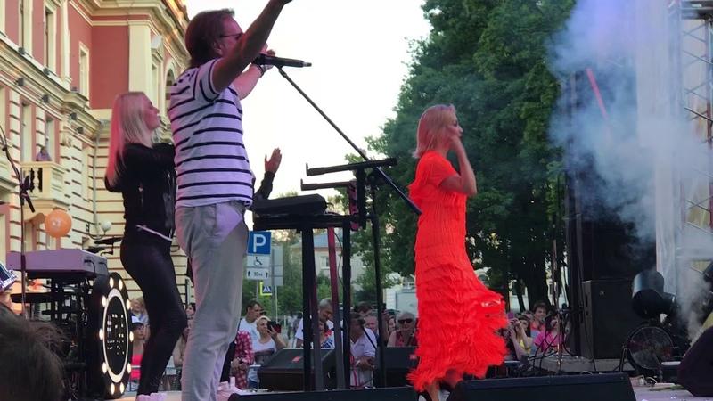 Татьяна Буланова - Белая черёмуха [Петергоф, 2018]