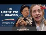 Meloni alleata con Photoshop DADO CANTA LA NOTIZIA Autori DADO Emiliano L.mp4