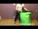 Как надуть шезлонг ламзак (lamzac) ДОМА за 15 секунд
