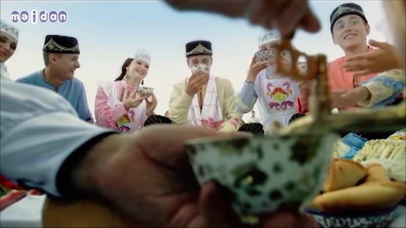 Татарстан республикасы фольклор музыкасы дэулэт ансамбле -Степьларда егет печэн чаба