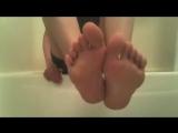 Young boy feet (strip)