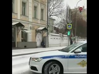 Ауди полиция