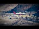 Landing At Worlds Highest Airport - Leh Kashmir / Приземление в самом высокогорном аэропорту- Лех Кашмир