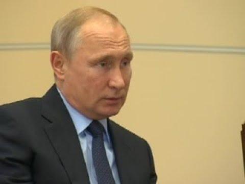Владимир Путин обсудил с Андреем Травниковым развитие Новосибирской области - Вести 24