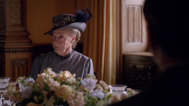 Downton abbey |5х09| вдовствующая графиня Грэнтэм