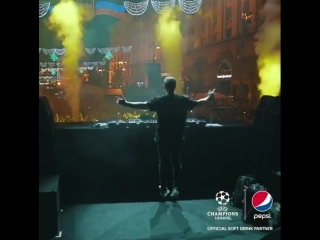 Hardwell @ UEFA League Champions final 2018, Kiev