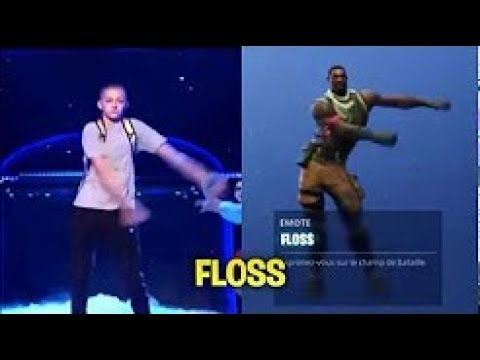 Fornite Young Dance Floss in Realife/Fornite Junge tanzt Zahnseide in echt!