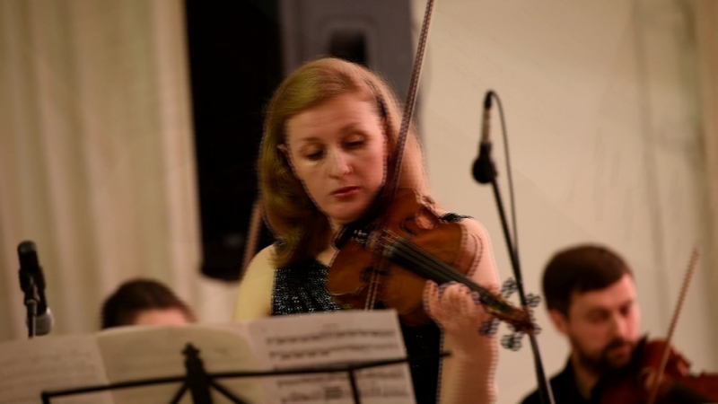 II фестиваль «Классика plus» в Коломенском. А. Вивальди, «Зима» из цикла «Времена года»