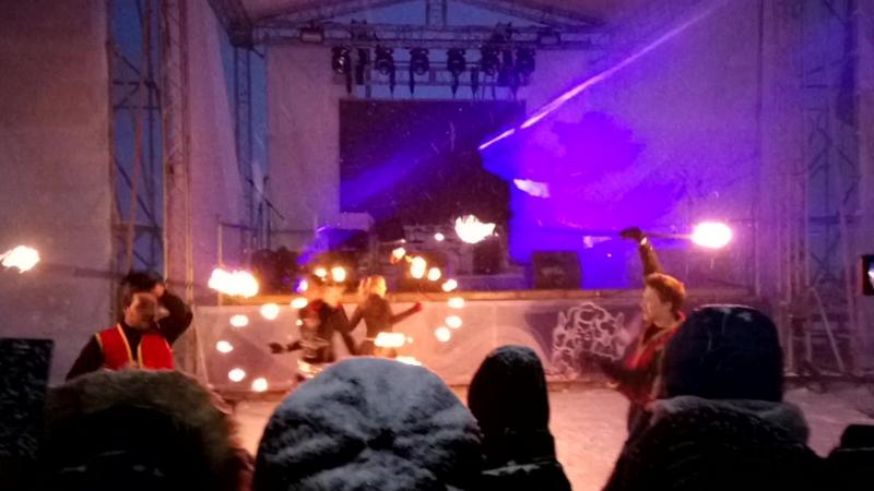 Фаер шоу Гиперборея 2018 ч2
