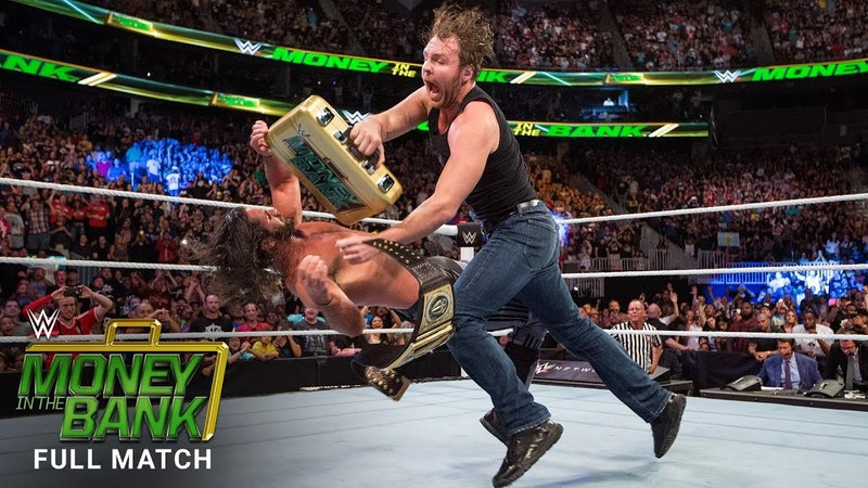 FULL MATCH - Dean Ambrose cashes in: Money in the Bank 2016 (WWE Network Exclusive)