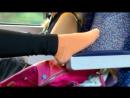 Школьница в автобусе сексуальные ножки 16 year Girl in Hot Socks 1_2 schoolgirl