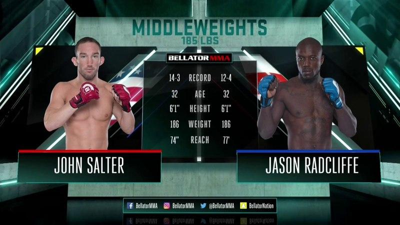 Bellator 188: John Salter vs. Jason Radcliffe - FULL FIGHT