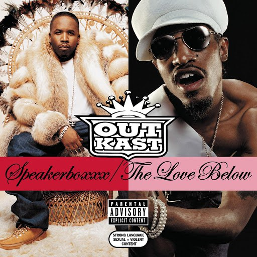 Outkast альбом Speakerboxxx/The Love Below (Deluxe)