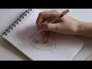 Как нарисовать лицо человека