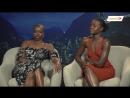 Black Panther#39;s Danai Gurira and Lupita Nyong#39;o chat to Channel24 - YouTube