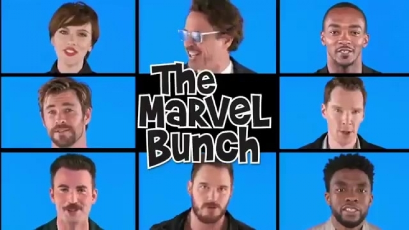 Marvel cast - THE MARVEL BUNCH.mp4