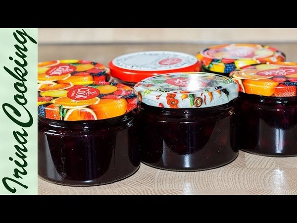 ВАРЕНЬЕ (ЖЕЛЕ) из ЧЕРНОЙ СМОРОДИНЫ на зиму | Jelly Blackcurrant- Vitamins for Winter Time