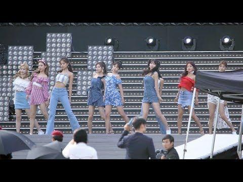 180717 트와이스(TWICE) Intro Dance The Night Away 리허설(Rehearsal) 4K 직캠 by 비몽