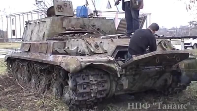 """Оживший _""""Зверобой_"""" ИСУ-152 » Freewka.com - Смотреть онлайн в хорощем качестве"""