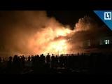 Пожар в баре на Новый год