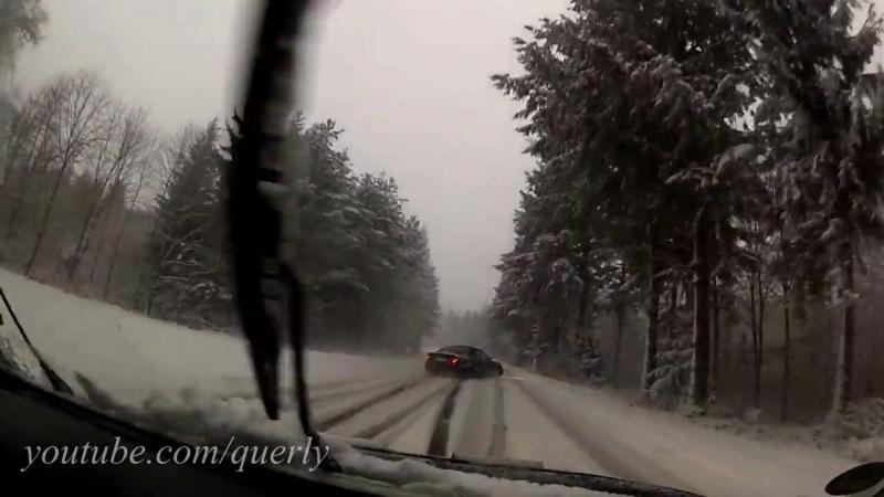 BMW E36 Боком везде и по всюду. Зима