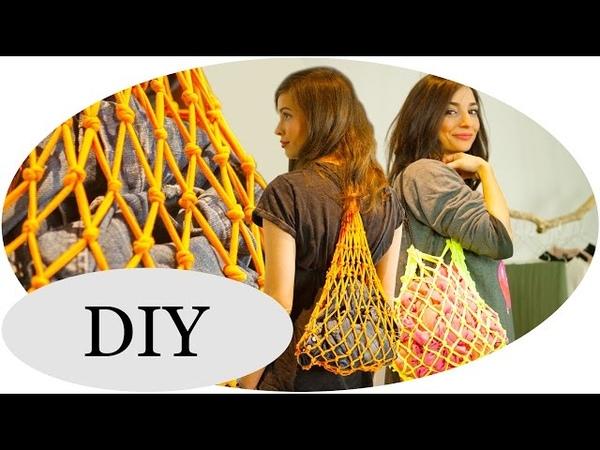 UPCYCLING-Ideen: T-Shirt Bag DIY Netz-Turnbeutel mit Kim Lianne Pt.2