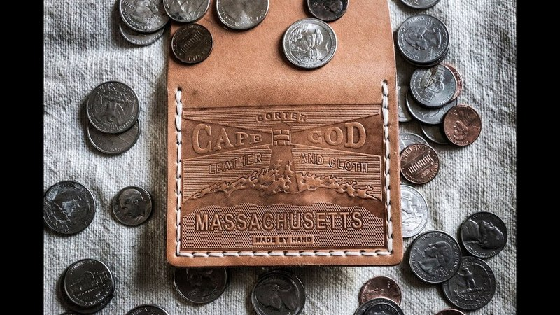 Leather Crafting Making an Embossed Coin Wallet