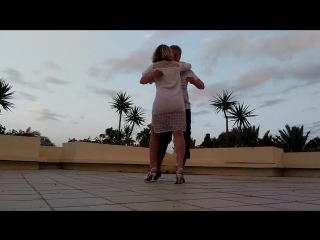 Kizomba in white