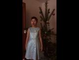 Ксюша Колесникова_Рождественское поздравление