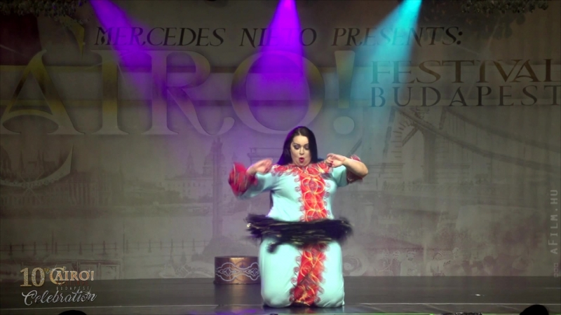 TATIA Moroccan Dance Bellydance at the CAIRO Festival Budapest 2018