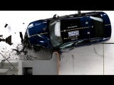 2015 Audi A3 driver-side small overlap IIHS crash test