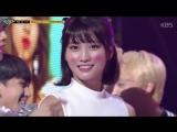 180427 Twice занимают первое место на Music Bank и получают свою восьмую награду с What is Love.Полная версия.
