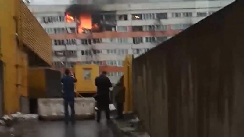 Взрыв в жилом доме в СПб на пр. Народного Ополчения, 219