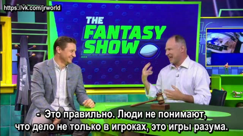 Jeremy Renner shares his fantasy football experience - ESPN Video, Aug 3, 2017 (рус. суб.)