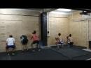 Воскресная тренировка группы спортсменов-гребцов в Challenge 64