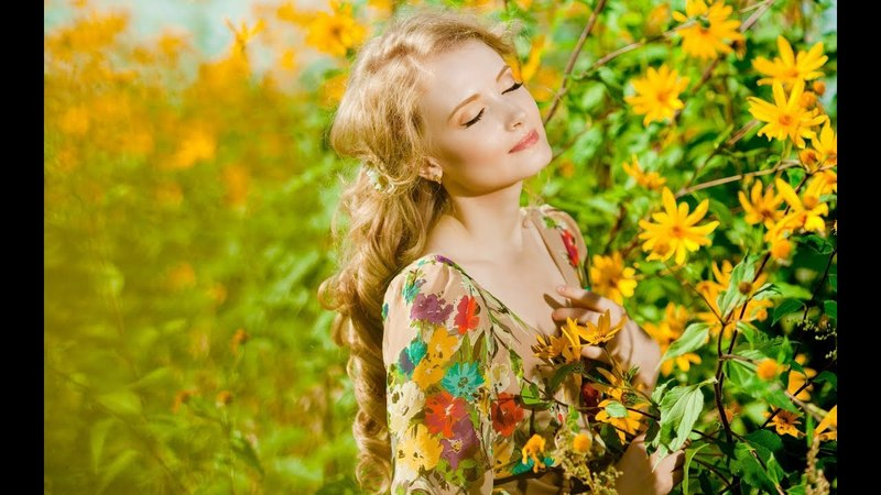 Кращі українські пiснi для душі Жовта квiтка Ukrainian Songs Yellow Flower
