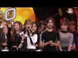 171112 Twice занимают первое место на Inkigayo и получают свою четвертую награду с Likey.