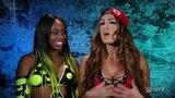 Naomi &amp Nikki Bella vs Carmella &amp Natalya WWE SmackDown Live 27 September 2016