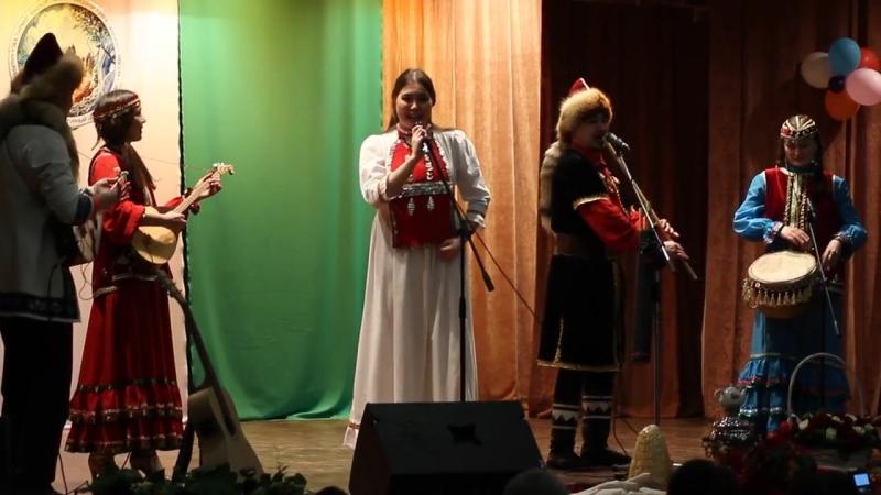 Аманат на отчётном концерте Ак Тирмэ 17.02.18.Шэл.