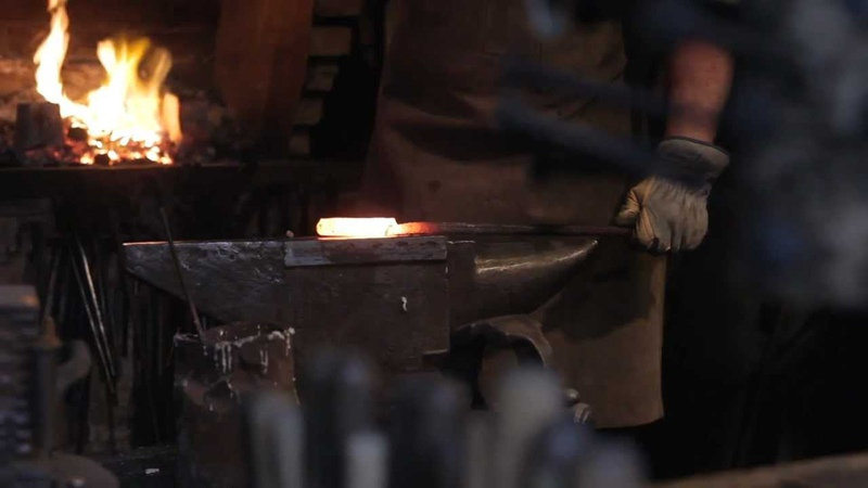 The Birth Of A Tool Part III Damascus steel knife making by Northmen