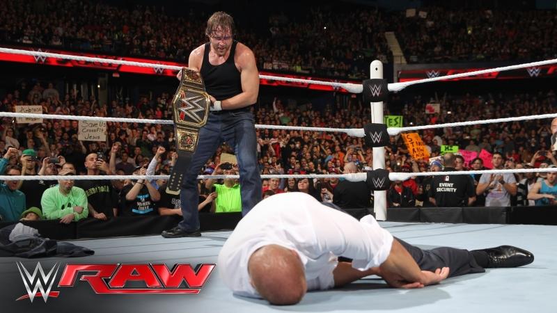 Dean Ambrose vs Bray Wyatt (07.03.16)
