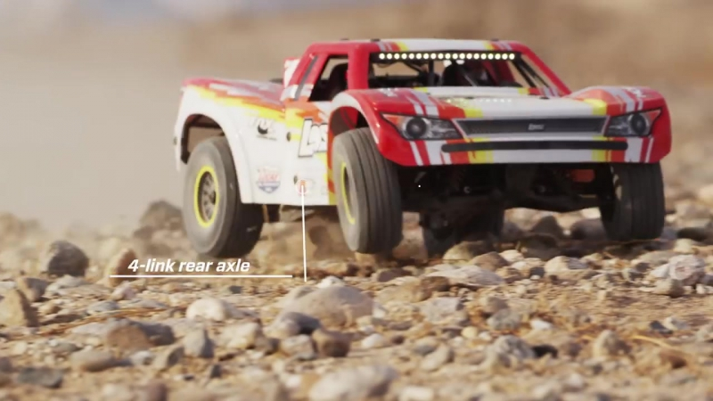 Losi Super Baja Rey 4WD Desert Truck Brushless RTR with AVC (16)