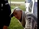Serbian Drunk Driver Alcohol Test Fail