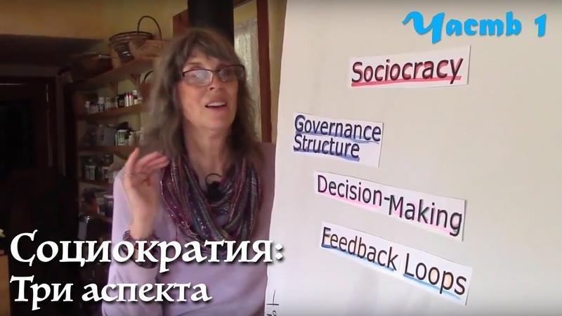 Кратко Социократия. Три аспекта. Даяна Кристиан