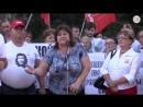 Депутат заявила о желании «напороть жопу» единороссам. Митинг против пенсионной